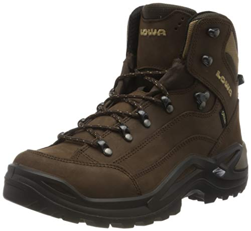 Lowa Unisex Adults' Renegade GTX Mid Low Rise Hiking Boots, Brown (Espresso 0442), 10.5 UK