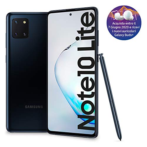 Samsung Galaxy Note10 Lite Smartphone, Display 6.7' Super AMOLED, 3 Fotocamere Posteriori, 128 GB...