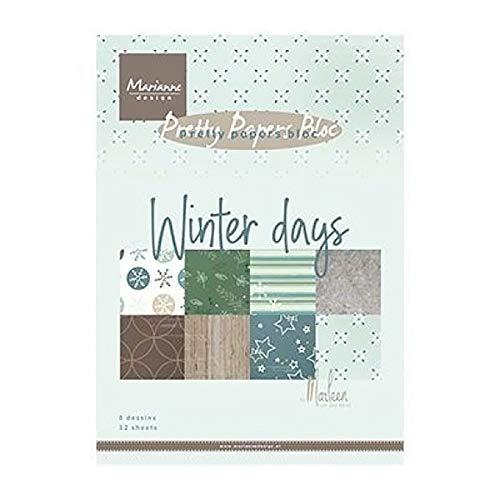 Marianne Design Motivpapier - Winter Days A5