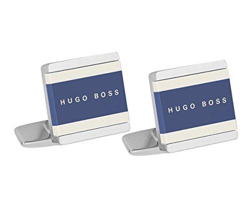 Boss 50385525-429 Manschettenknöpfe Fabian Blau/Weiß
