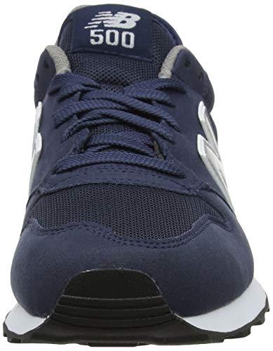 New Balance 500 Core, Zapatillas Hombre, Azul (Navy), 42.5 EU