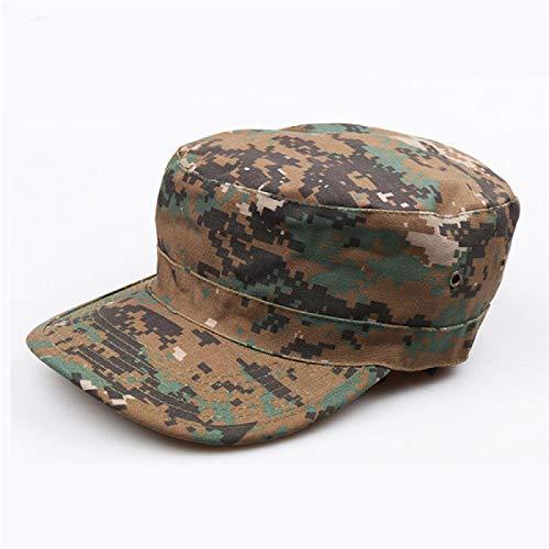 AHECZZ Sombrero,Sombrero de Hombre Sombrero táctico de Camuflaje Gorra de Sol JD