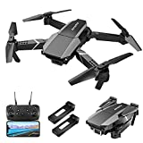 KOROSTRO GPS Drohne mit Kamera HD 1080P, Mini Faltbare RC Quadcopter HD WLAN Live Übertragung, Handy gesteuert, Höhenhaltung, 2 Akku Lange Flugzeit, Headless Modus für Anfänger und Kinder