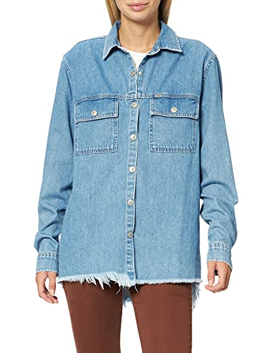 LTB Jeans Anisha Camisa, Elisia Wash 53439, S para Mujer