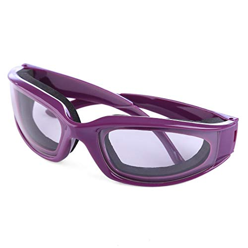 ZOME Tears Free Onion Goggles Glasses Kitchen Slicing Cutting Chopping Eye Protector Manual Juicers