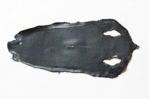In vera pelle di razza del pellame lucido nero Craft supply