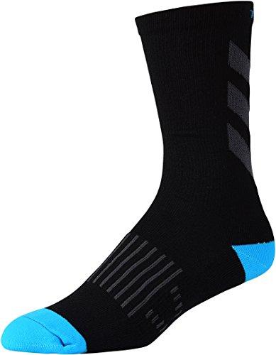 Troy Lee Designs 853628215 Performance Crew Sock Escape Blk/Wht 10-13