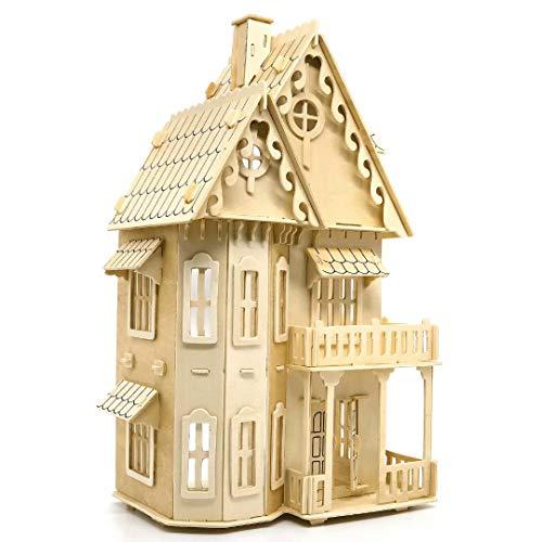 Fantasie Villa, Quay Holzbausatz, nettes Zimmer