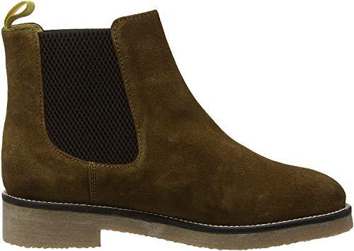 Tom Joule Damen Chepstow Chelsea Boots, Braun Dunkelbraun, 39 EU