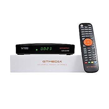[2021 Newest] Vlogdeals GTMEDIA V7 PRO Free to air Digital Satellite Receiver FTA DVB with Antenna WiFi USB CA Card Slot Full HD 1080p H.265 HEVC 10bit Support CCcam autoBiss New Generation V7PLUS