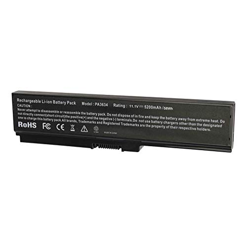 ASUNCELL Batería del Ordenador portátil para Toshiba Satellite C640 C650 C655 C660 C660D A655 A660 A660D L310 L600 L630 L640 L655D M300 M320 M330 M600 M640 M645 P740 P745 P745D P750 P755 P770