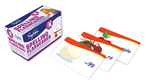 Kindergarten Spelling Flashcards: 240 Flashcards for Building Better Spelling Skills Based on Sylvan's Proven Techniques for Success