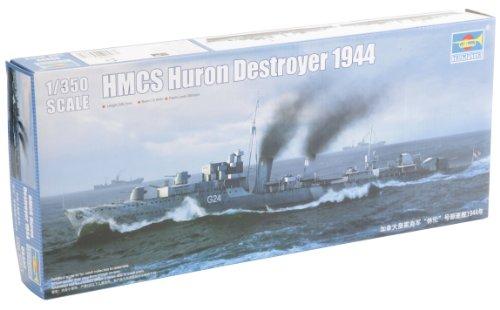 Modellino Nave da Guerra Canadian Navy Destroyer HMCS Huron 1944 (05 333) Scala 1:350 (Importato da Giappone)