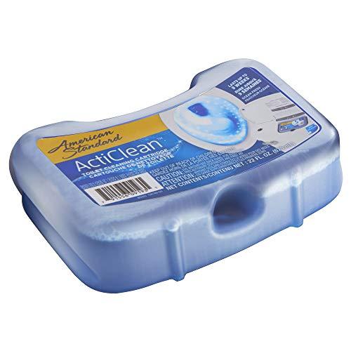 American Standard 1466.003 Acticlean Toilet Cleaning Cartridge (Pack of 3), Blue