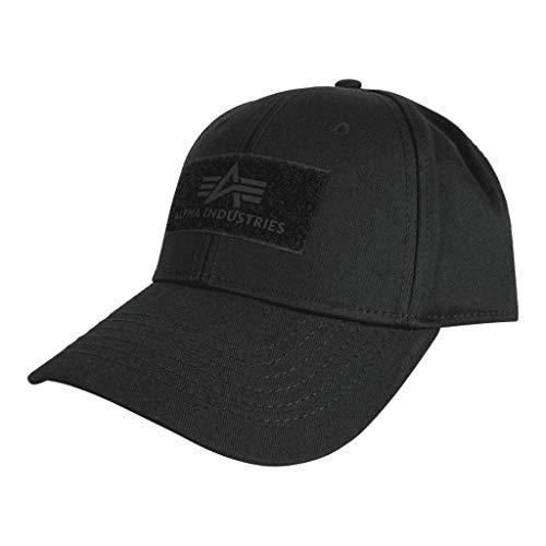 Alpha Industries Gorra de velcro. negro Talla única
