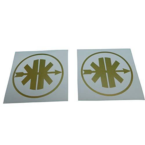 Kreidler Aufkleber, Ersatzteil Sticker oder als Tank Schriftzug Dekor. Zum Oldtimer Restaurieren von Lack und Verkleidung. Alternativ zum Motorrad Emblem