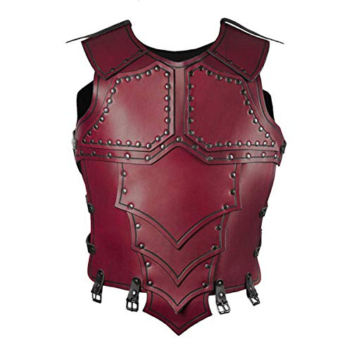 LGQ Reitweste Reitweste Dämpfungssport Eva Reitweste Reittraining Körperschutzausrüstung Weste für Erwachsene Männer Frauen,Rot,One Size