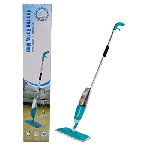 MWMALLINDIA Spray Mop Set with Microfiber Washable Pad, Best 360 Degree Easy Floor Cleaning for Home & Office