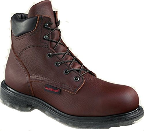 Red Wing 606 Men's 6-inch Boot (7 2e Us) Red/Brown