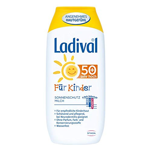 Ladival Kinder Sonnenmilch LSF 50+, 200 ml