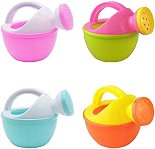 WPSTGB Bath Toys, 1 Cute Baby Shower Toys Plastic Watering Can Watering Can Beach Bath Toys Play Sand Toys Gifts for Child...