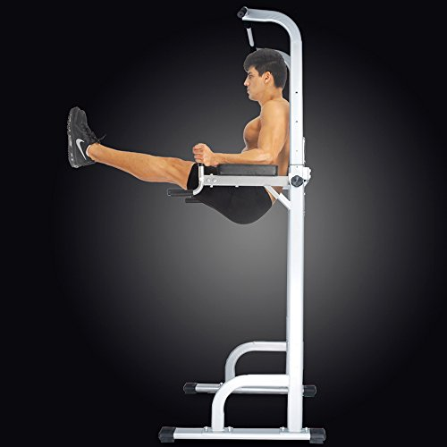 Product Image 8: Ainfox Power Tower, Capacity 550 Lbs Pull Up Bar Tower Dip Stands Fitness Gym Office