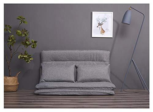 WSZMD Sala Estar Muebles Dormitorio Sofá Sofá Cama Sofás Multi Funcional Sofá Cama Japonés Tatami Futón Plegable Juego Salón Sofá, Sofá Cama (Color : Dark Grey Color, Type : One Seat)