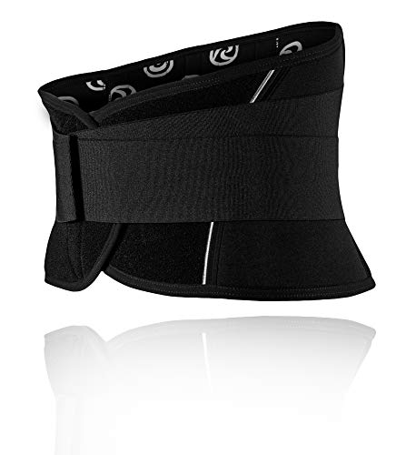 Rehband UD X-Stable Back Support - Faja lumbar (talla XL), color negro ⭐