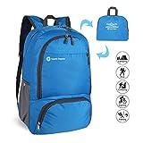 ComfyDegree 35L Ultra Ligera Mochila Plegable de Senderismo Excursión Deportes al Aire Libre/Bolsa de Viaje, Nylon Impermeable (Azul)