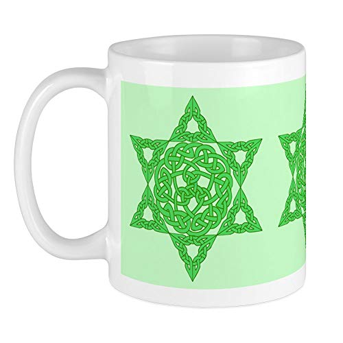 CafePress Celtic Star Of David Mug Unique Coffee Mug, Coffee Cup