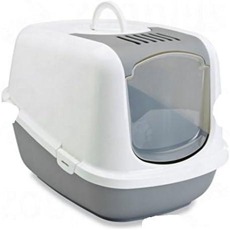 Arenero cubierto grande XXL, tiene una abertura superior para una limpieza rápida y fácil, un interior espacioso, ideal para gatos muy grandes: Amazon.es: Productos para mascotas