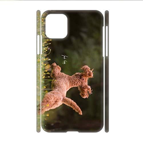 Caja De Plástico Rígido Compatible para Samsung S 21 Ligero Chico Impresión Poodle