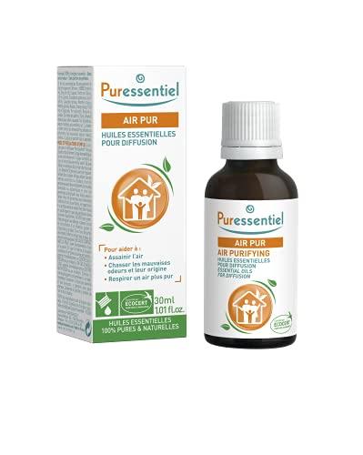Puressentiel - Purificante - Aceites Esenciales para Difusión Aire Puro - 100% puros y naturales - Purifica el aire y combate los olores desagradables para un aire más puro - 30ml