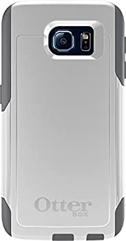 OtterBox COMMUTER SERIES for Samsung Galaxy S6 - Retail Packaging - Glacier  White/Gunmetal Grey