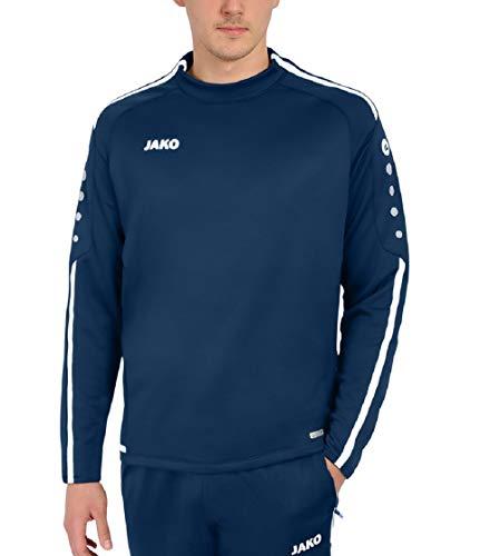 JAKO Kinder Sweat Striker 2.0 Trainingssweat, Marine/Weiß, 152