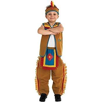 Rubies 883615L - Disfraz de indio para niño: Amazon.es: Juguetes y ...