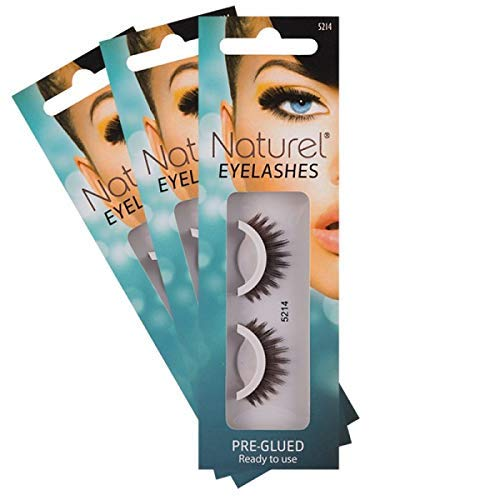 Reusable Fake Eyelashes, Lightweight, Self-Adhesive False Lashes, No...