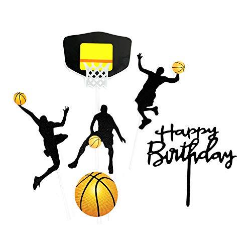 Gwotfy happy Birthday Cake Toppers, Decoración para Tarta, Topper Feliz Cumpleaños, Happy Birthday Topper Decoración, para Boda, Aniversario, Fiesta de Cumpleaños, Decoración del Hogar