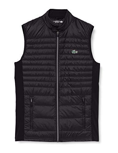 Lacoste Sport BH0082 Abrigo de Vestir, Noir/Noir-Noir, 60 para Hombre