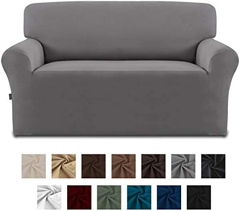 Best Easy-Going Fleece Stretch Sofa Slipcover – Spandex Anti-Slip Soft Couch Sofa Cover, Washable Furni
