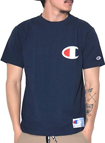 チャンピオン メンズスポーツウェア 半袖ベーシックTシャツ T-SHIRTS C3-F362 370メンズ 370