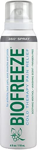 Biofreeze Cold Therapy Pain Relief 360 Spray 4 oz Pack of 4 product image