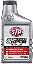 STP High Mileage Oil Treatment, Formula for Cars & Truck, Stop Leak, Bottles, 15 Fl Oz, 18411