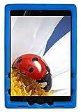 BobjGear Bobj Silikon-Hulle Heavy Duty Tasche für ASUS ZenPad Z10 (ZT500KL, P00I) and ZenPad 3S-10 (Z500M, P027) Schutzhulle (Blau)