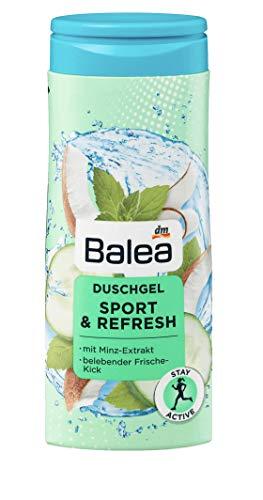 Balea Duschgel Sport & Refresh - 1 x 300 ml - vegan/ohne Aluminiumsalze