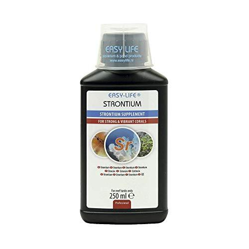 Easy Life Strontium Traitement de l'eau pour Aquariophilie 250 ML