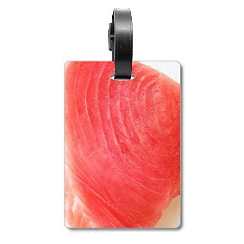 Salmon Sashimi - Etiqueta de identificación para Maleta de Crucero