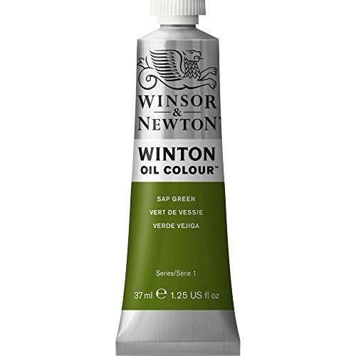 Winsor & Newton Winton Tubo Óleo, 37 ml, Color Verde Savia