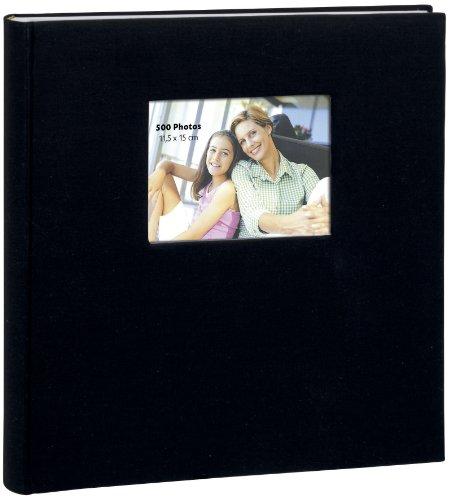 Erica - Album Square à Pochettes pour 500 Photos 11.5x15 - Noir