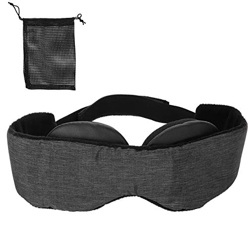 SunshineFace Lidschattenabdeckung Modulare Verstellbare Atmungsaktive 3D-Reiserest-Schlafservietten...
